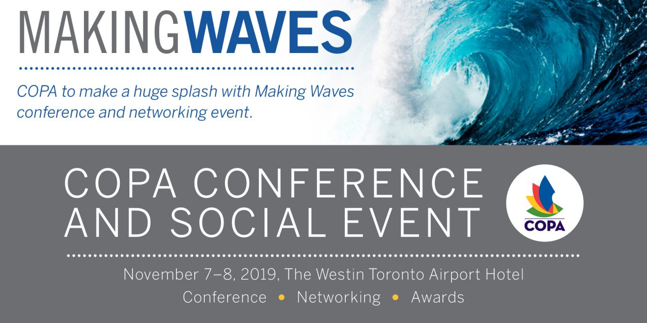 "CHHMA Members Can Register to Attend the COPA ""Making Waves"" Educational Conference"