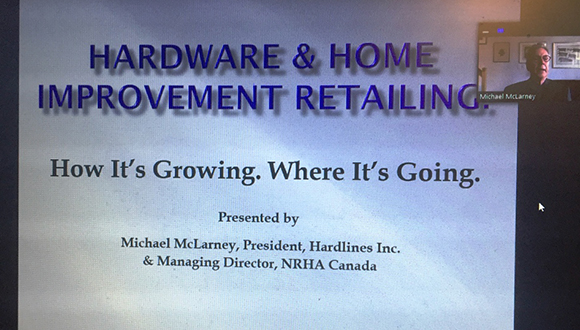 Hardlines' Michael Mclarney Discusses Industry During CHHMA Zoom Presentation