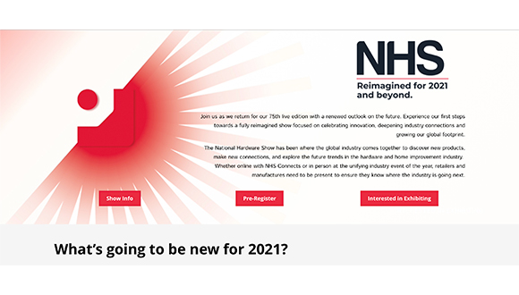 National Hardware Show Announces New 2021 Dates