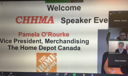 Home Depot Canada's Pamela O'Rourke Provides Insights During CHHMA Zoom Presentation