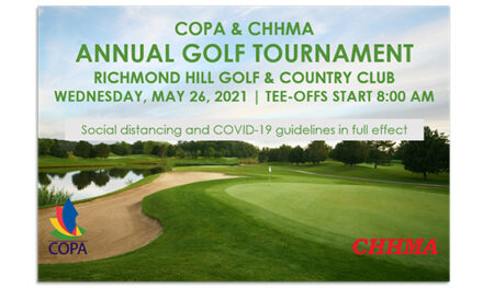 CHHMA/COPA Golf Day Spring 2021