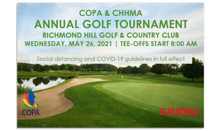 CHHMA/COPA Golf Day Spring 2021