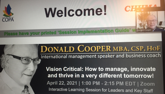 Donald Cooper Discusses How to Succeed Through 'Operational Vision'